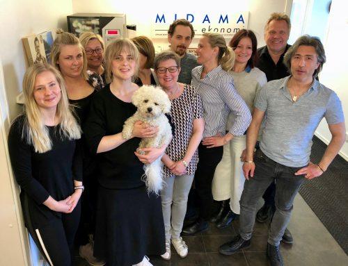 Midama Ekonomi AB utmanar Ernströms Revisionsbyrå och LRF Konsult på stafett!